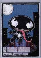 Stewie as Venom by ElainePerna