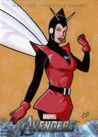 Wasp - Avengers Assemble by ElainePerna