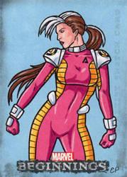 Rogue - Marvel Beginnings 2 by ElainePerna