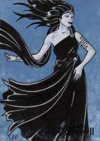 Nyx Sletch Card - Classic Mythology II by ElainePerna