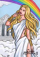 Iris Sketch Card - Classic Mythology II by ElainePerna