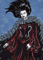 Morrigan AP Sketch Card - Classic Mythology II by ElainePerna