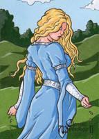 Danu AP Sketch Card - Classic Mythology II by ElainePerna