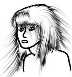 Flaming Hair by artsy-geek