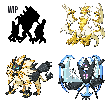 Necrozma forms by leparagon