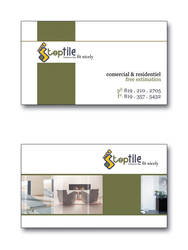 Step Tile business card by dadoo-freelance