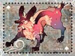 Pink Wolf by ELK64