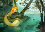 At the lake by ELK64