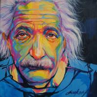 Albert Einstein by JACK-NO-WAR