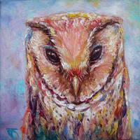 Oriental Bay Owl by JACK-NO-WAR