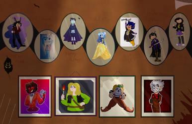 Poptropica Halloween Costume Collage by NineTenOnetyOne