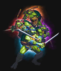 Teenage Mutant Ninja Turtles by DragonicDarkness