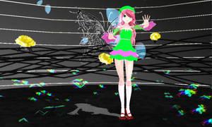 [MMD] Paradichlorobenzene - Momone Momo +Vid Link by SapphireRose-chan