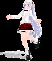 [MMD Newcomer] Marry Kozakura -School Uniform- by SapphireRose-chan