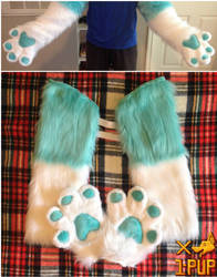 Fizzy Hand Paws by 1PUPsuits