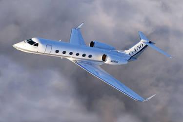 Gulfstream G450 by chippaige