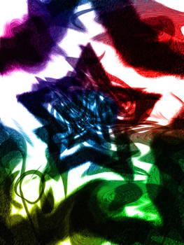 Coloured Stars by jackowagstaffe