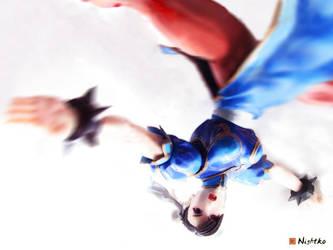 My newest PlayArts Chun Li Figure by Nightko