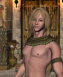 Tomb Watcher by DiannaSilver