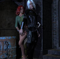 Bodyguard and Mistress 3 by DiannaSilver