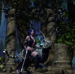 Huntress by DiannaSilver