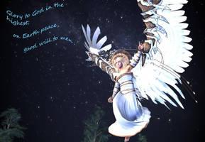 Angel Tidings by DiannaSilver