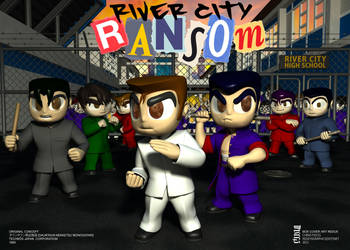 River City Ransom [Downtown Nekketsu Monogatari] by chinopisces