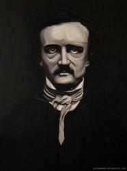 Edgar Allan Poe by YourNewGod