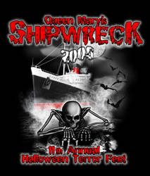 Queen Mary Shipwreck 2005 by YourNewGod