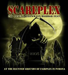 scareplex halloween art 2005 by YourNewGod