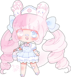 chibi commission for Crystallyna by Hacuubii