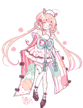 adoptable auction | new year | CLOSED by Hacuubii