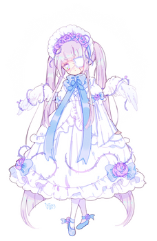 adoptable auction | broken doll | CLOSED by Hacuubii