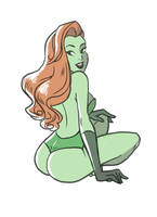 Let's show our derriere 2 : Poison Ivy by ClemCyza