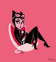 Tiny Catwoman by ClemCyza