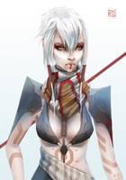 Huntress by rhigu