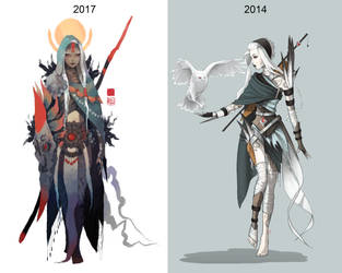 ' Eda ' Redesign Comparison by rhigu