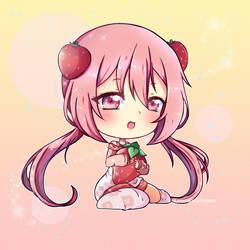 PCM-strawberry by Kuraudia-Nunyesu