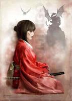 Samurai by jrdomingo