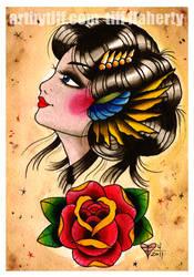 Gypsy Rose by tifftoxic