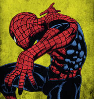 Pjb47's Spider-Man Colored by twistedangel0