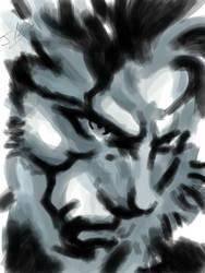 iPad - Big Boss by JimOfRapture