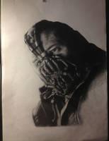 Bane portrait in progress. by JimOfRapture