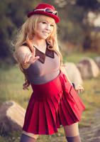 Pokemon Serena . I choose you by kazenary
