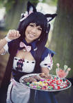 Chocola . Do you want some sweets? by kazenary