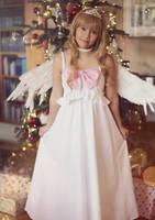 Taiga Aisaka . Christmas Angel III by kazenary