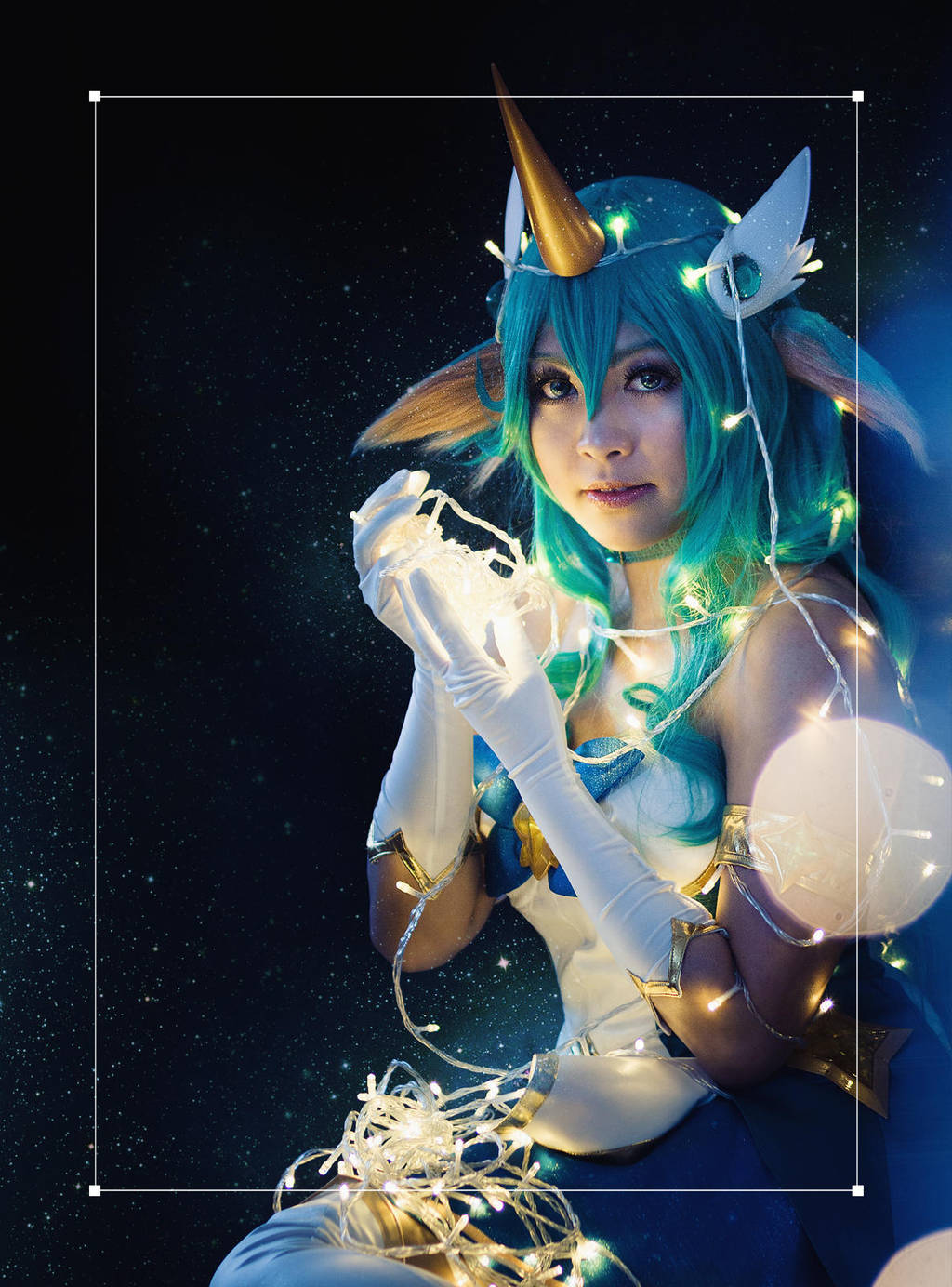 League of Legends . Star Guardian Soraka II by kazenary