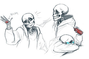 undertale sans by dupsmj9610