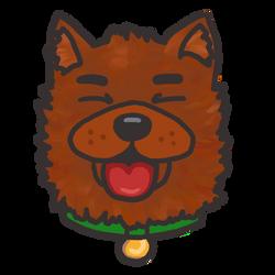 Catioro feliz (happy dog) by jujubaverde