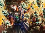 L5r art - Kuni Shinoda exp by HectorHerrera